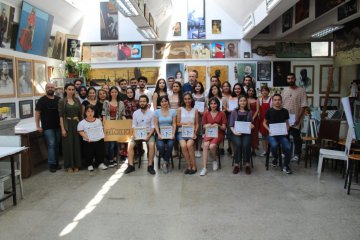 ders BELGELİĞİ The 6th painting and 13th Pattern Design Competition Award Ceremony Was Held